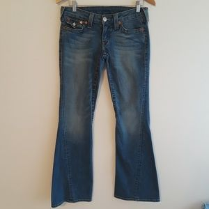 True Religion | flared leg jeans